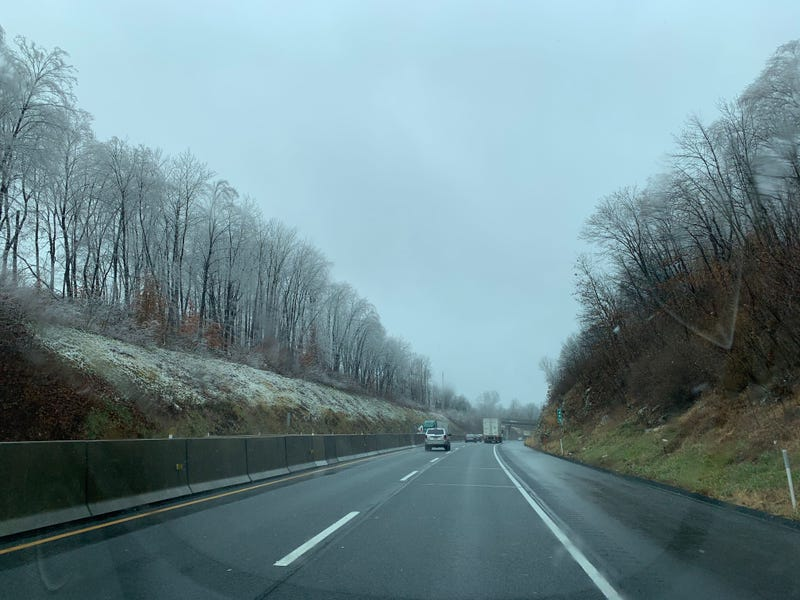 A section of the Northeast Extension between Quakertown and Allentown.