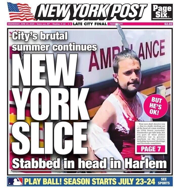 Man stabbed in head East Harlem