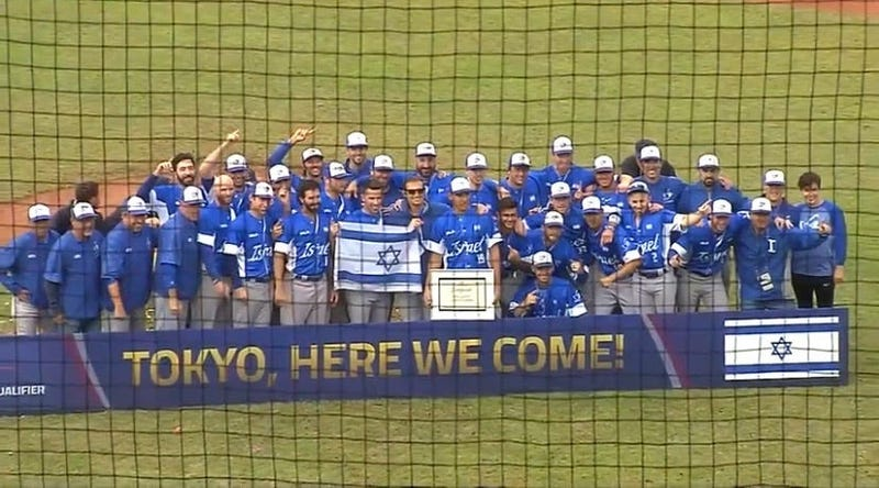 The Israeli baseball team prepares for its Olympic journey in Tokyo.