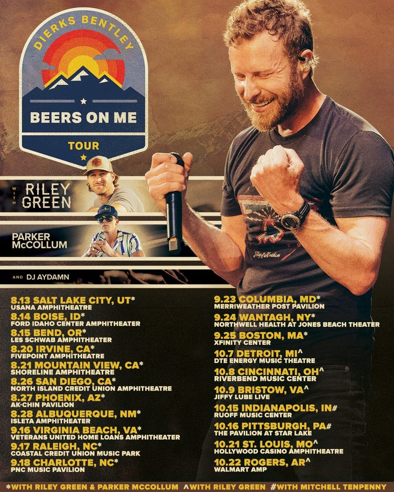 Beers on Me Tour