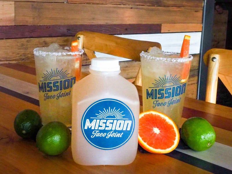 Mission Taco margaritas