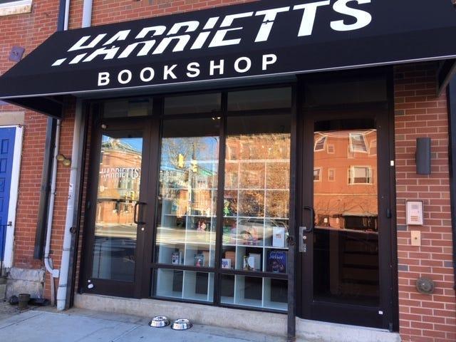 Harriett's Bookshop in Fishtown.