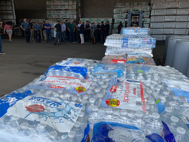 The Delaware County Fraternal Order of Police have collected supplies to send to the storm-ravaged Bahamas.