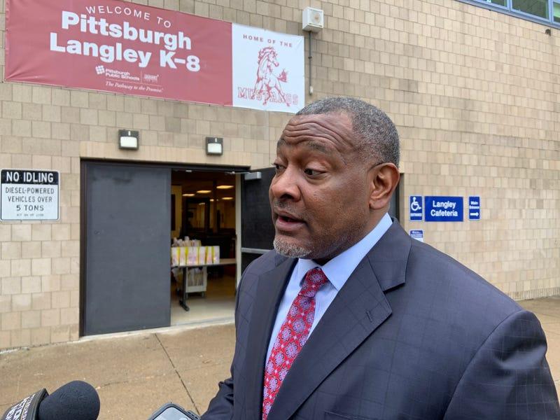 Pittsburgh Public Schools Superintendent Anthony Hamlet