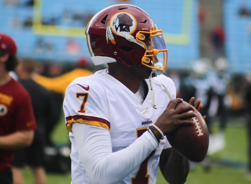 Redskins quarterback Dwayne Haskins