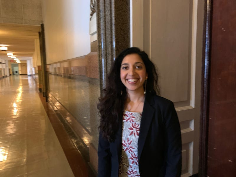 Policy chief Anjali Chainani discussed the results of a survey completed by city residents.