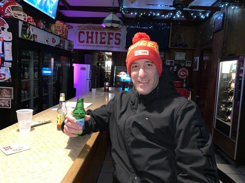 Stevey Mac, a Big Charlie's Saloon regular