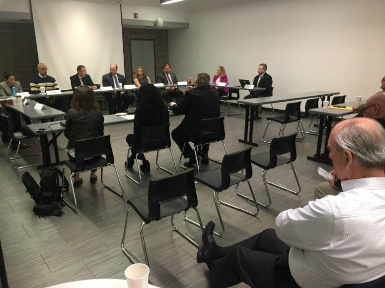 A congressional task force takes on issue of what to do about chemicals that contaminate water.