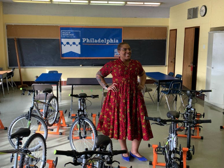 Crystal Edwards, principal of W.D. Kelley School in Brewerytown.