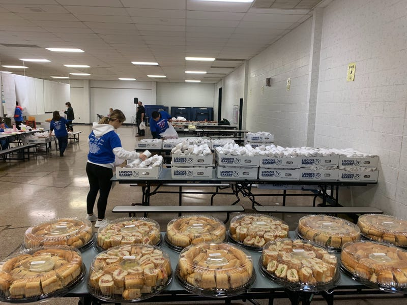 Helping Hands Super Bowl Hoagie Sale