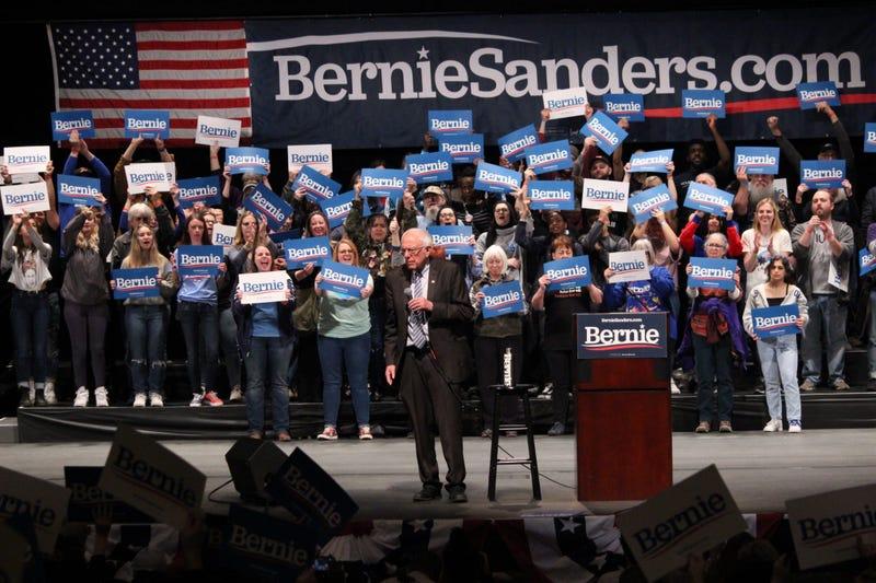 Bernie Sanders in St. Louis Missouri