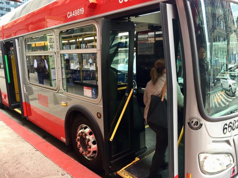 San Francisco MUNI bus