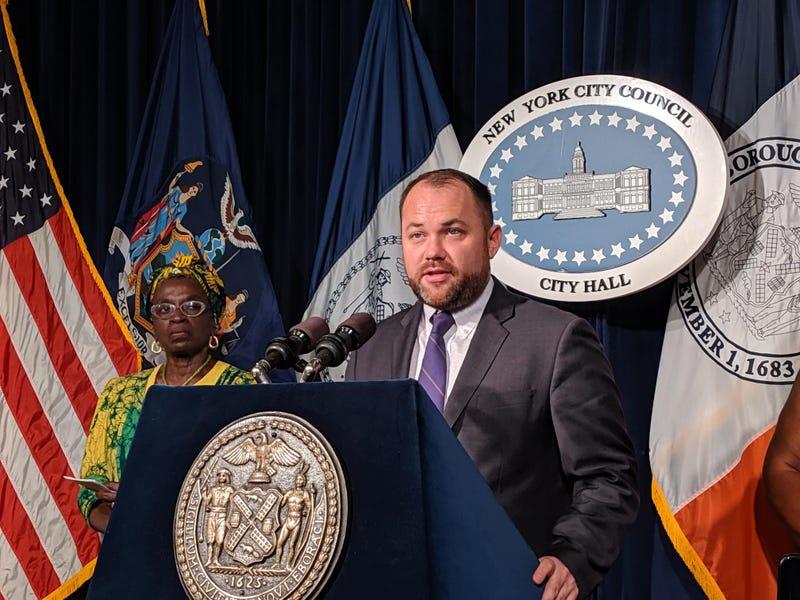 City Council Speaker Corey Johnson
