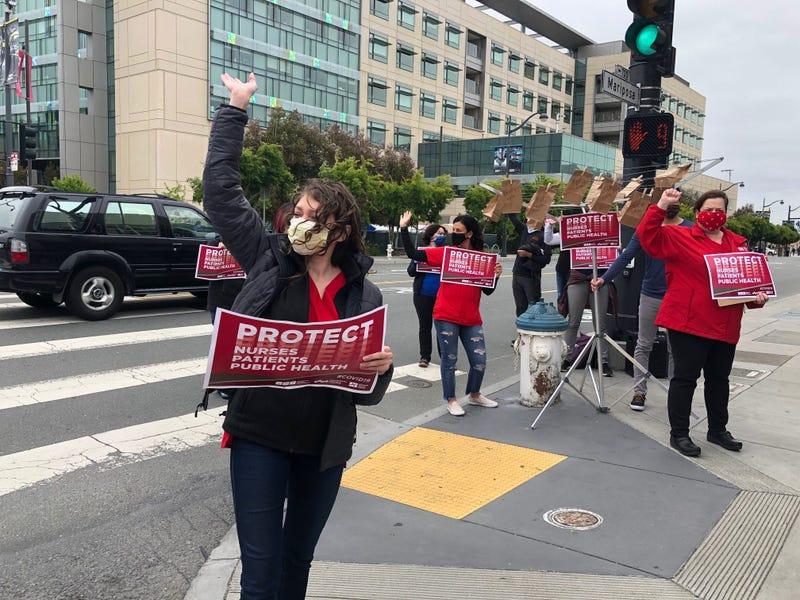 Nurses UCSF Protest