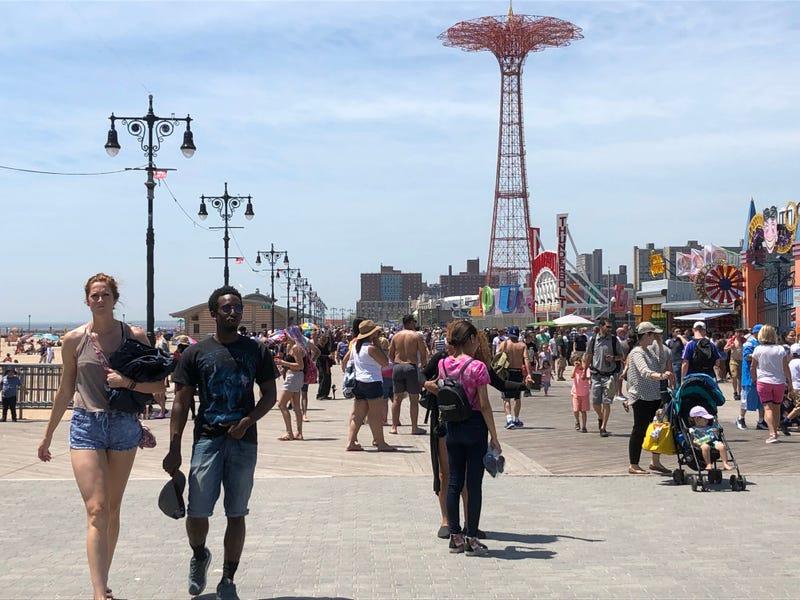 Coney Island Memorial Day