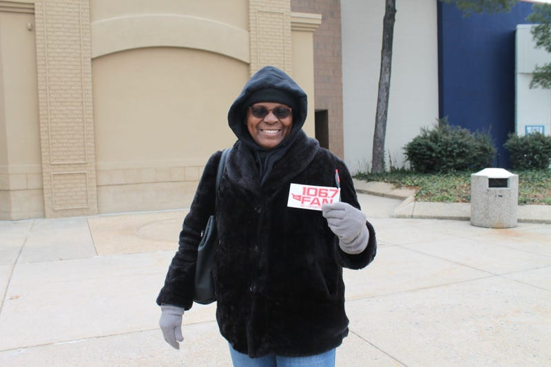 106.7 The Fan Street Team hit the streets looking for radio lovers!