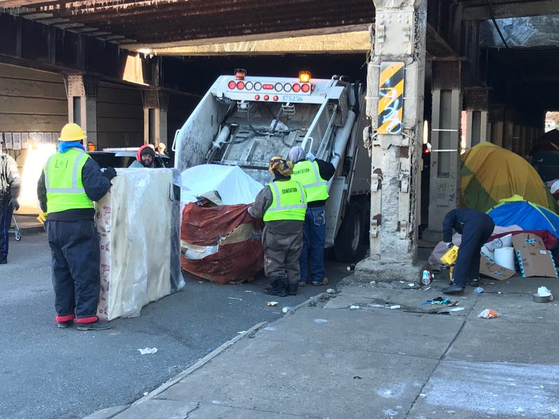 City officials shut down and cleaned out the last of four major homeless encampments in Kensington, known as Emerald City.