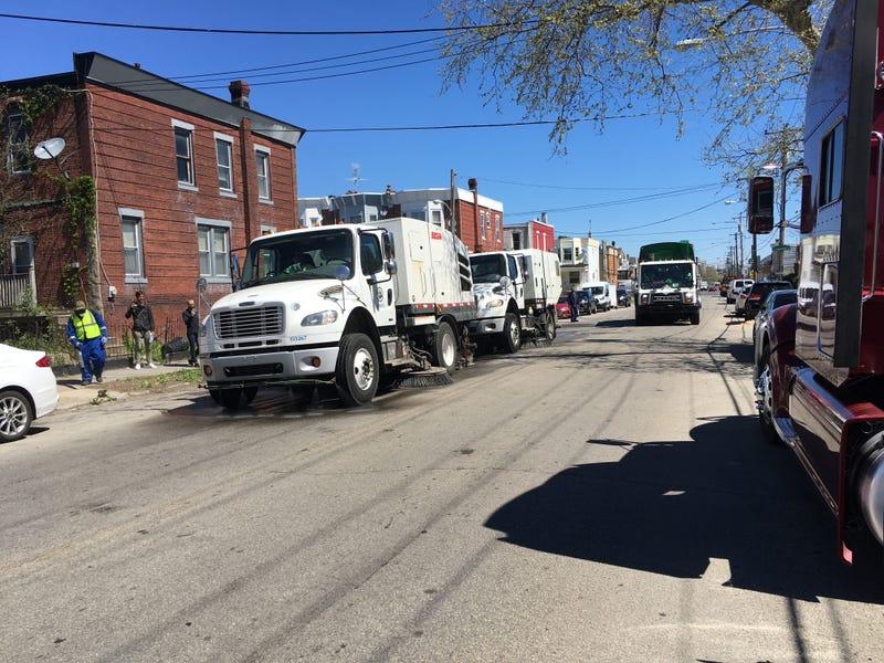 Street cleaning in Philadelphia