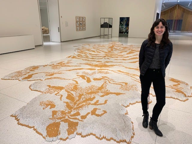 Simone Levine, Curatorial Research Assistant, Global Contemporary Art, Smart Museum of Art