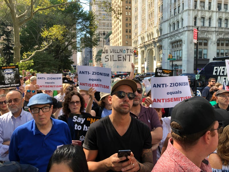 Rally to condemn anti-Semitism