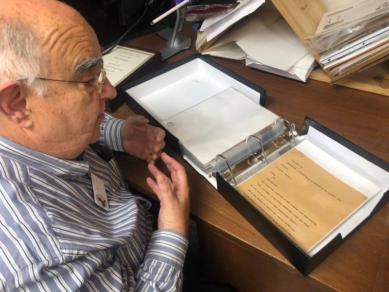 Bart Lee of the California Historical Radio Society has been involved in work to preserve materials from KCBS Radio's broadcast about the assassination of President John Kennedy in 1963.