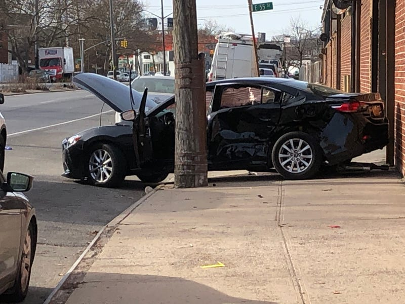 East Flatbush crash