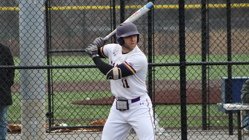 WCU senior power hitter Joe Zirolli.