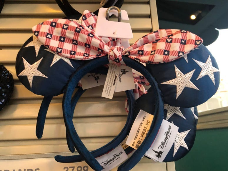 Minnie Mouse Americana Ears