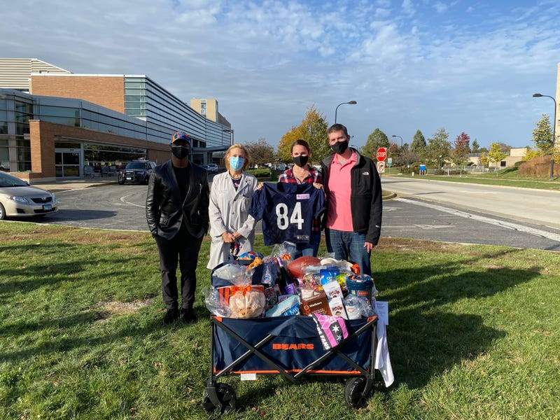 Chicago Bears surprise nurse battling breast cancer