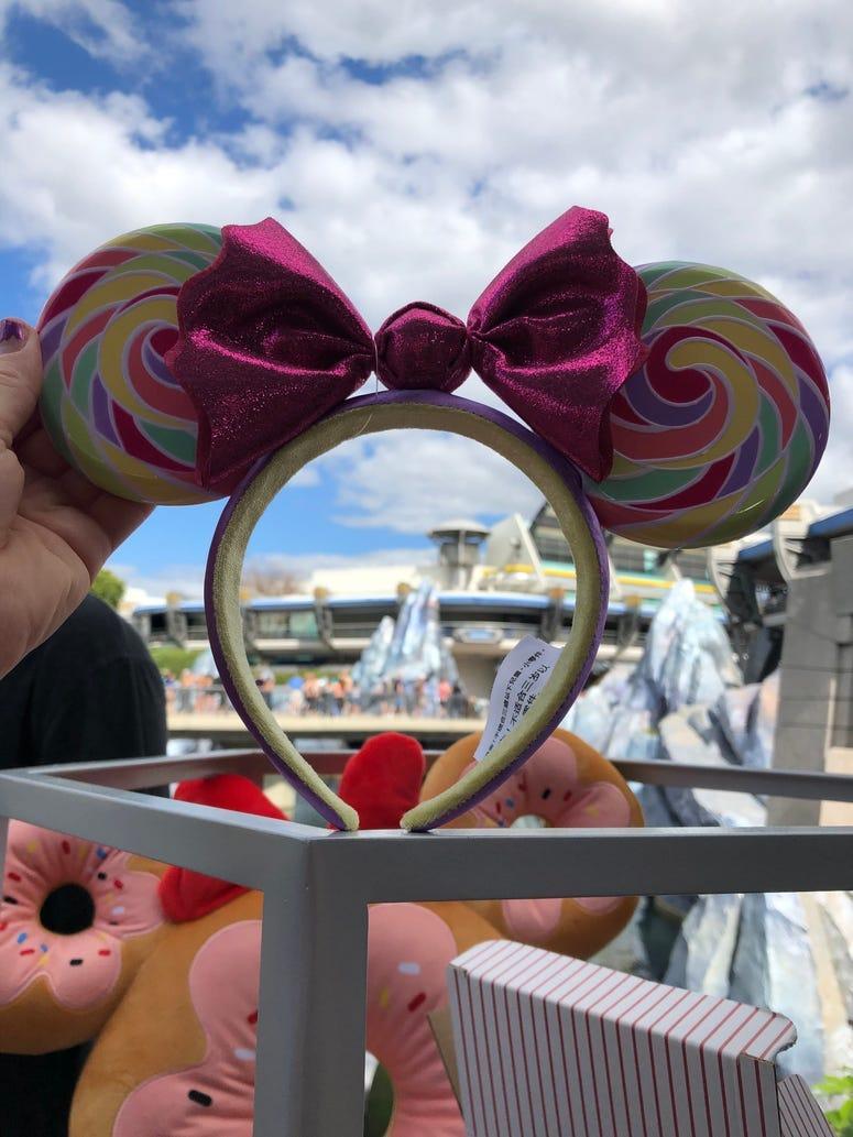 Lollipop Minnie Ears
