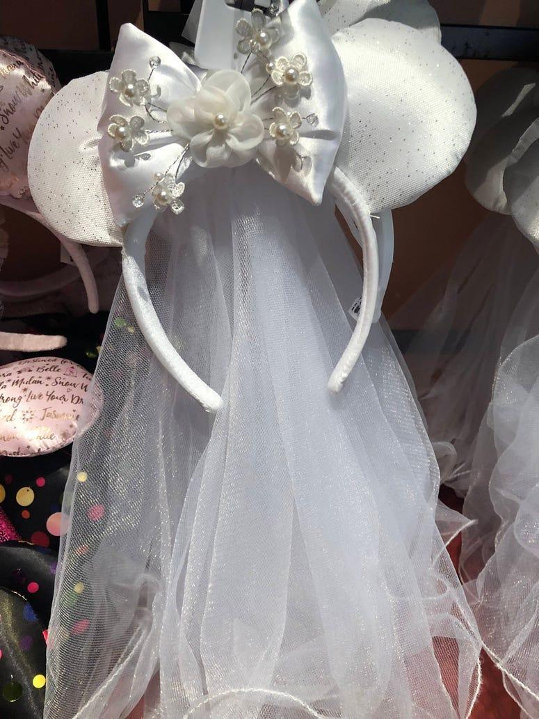 Minnie Bride Ears