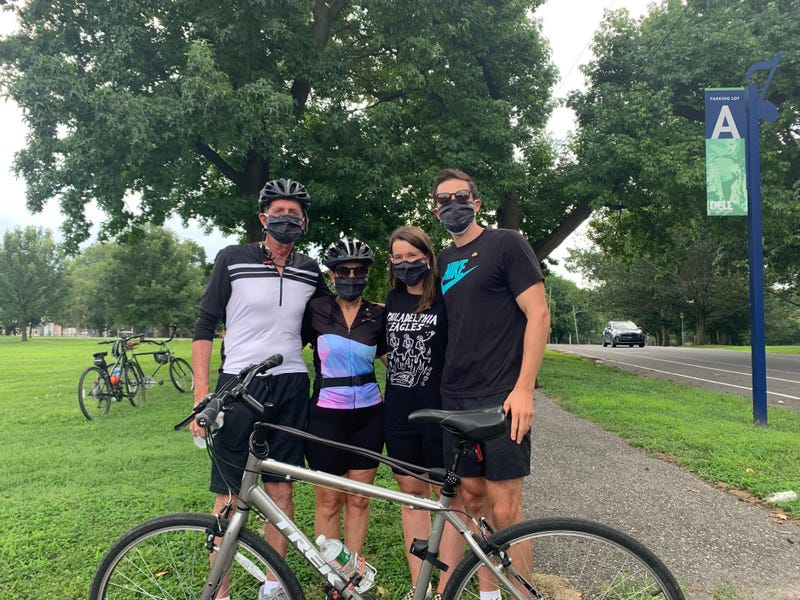 The Lindsay family, Bill, Monica, Emma and Phil, organized a ride to honor the memory of Will Lindsay, who was killed July 12 by a hit-and-run driver.