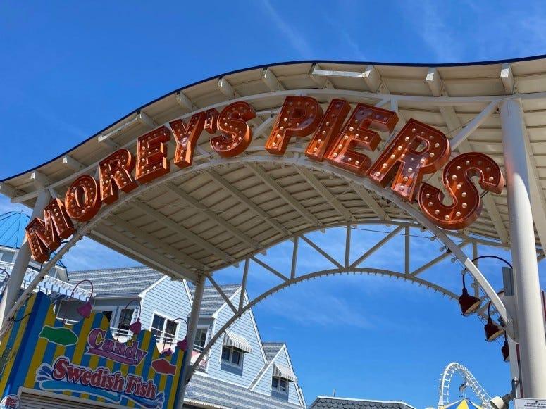 Morey's Pier in Wildwood, New Jersey