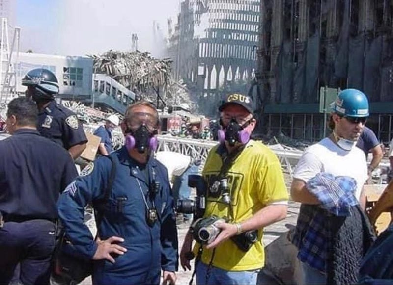 Greg Masi, Ground Zero, 2001