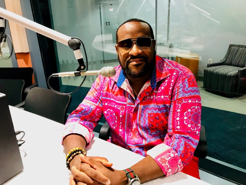 Philadelphia musician Jeff Bradshaw at KYW Newsradio