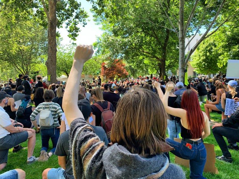 George Floyd Police Brutality Protests in Walnut Creek, June 1, 2020