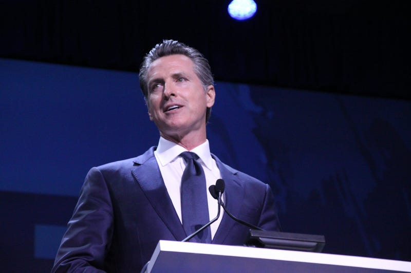 Gavin Newsom Speaks At the California Democratic Party Convention.