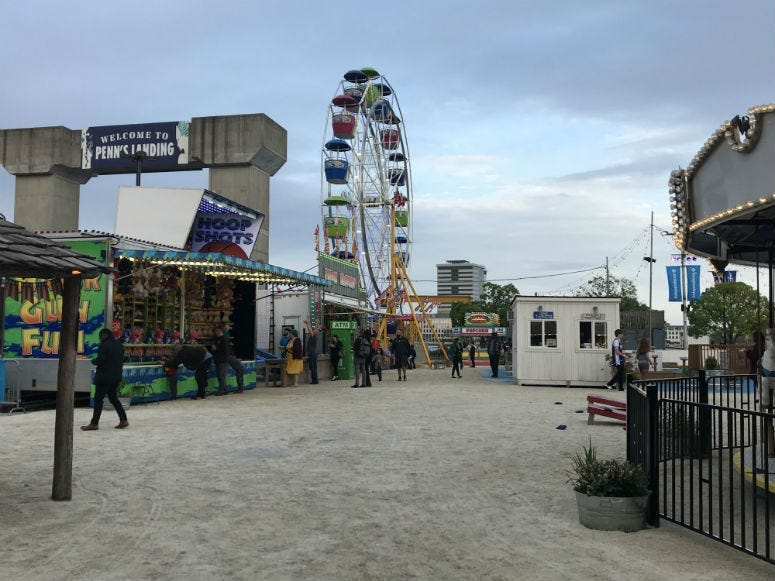 An exiting summer of programming is planned along Penn's landing.