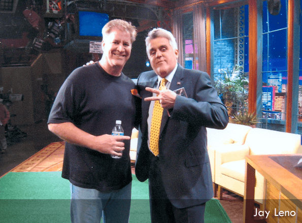 DFW Mentalist David Magee with Jay Leno