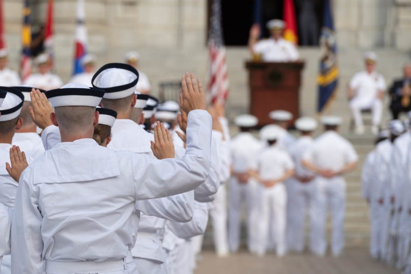 The United States Naval Academy welcomes the incoming Midshipmen 4th Class, or plebes, of the Class of 2023 during Induction Day 2019