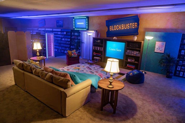 Blockbuster Interior