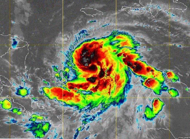 Hurricane Iota in Caribbean 11-15-20