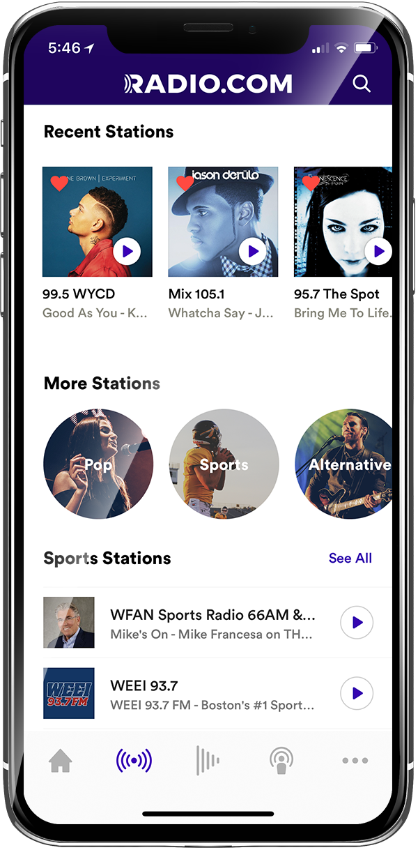 Radio com App for iPhone and Android | RADIO COM