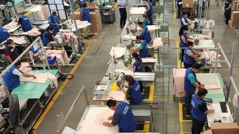 Ford making gowns with airbag supplier Joyson Safety Systems