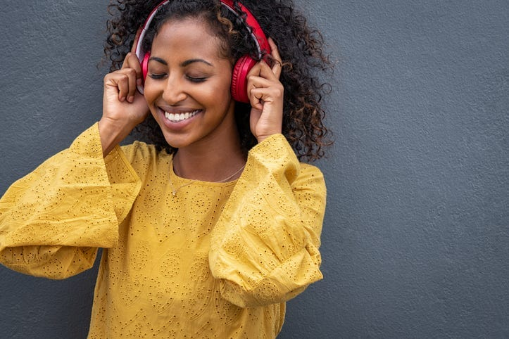 It Takes Nine Minutes for Music to Make You Happy, and 13 to Relax