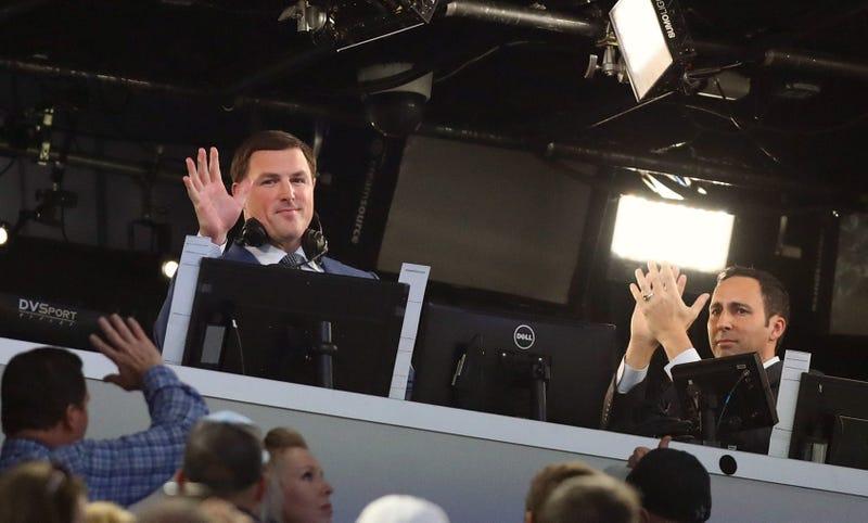 ESPN football analyst Jason Witten