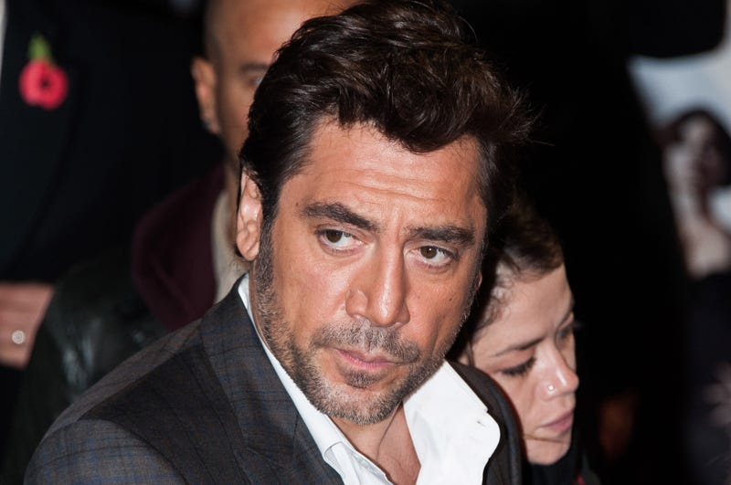 Javier Bardem at the Skyfall premiere