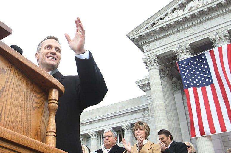 Missouri Gov. Eric Greitens inauguration