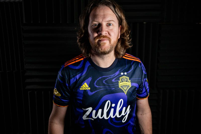 Get a look at the new Jimi Hendrix Kit Sounders FC shirt