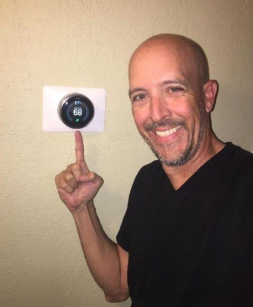 John's thermostat
